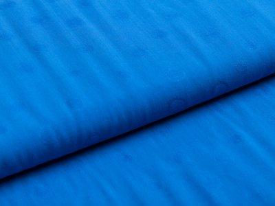 Webware Viskose - Dots - blau