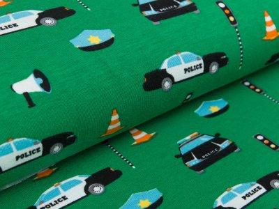 Jersey - Polizeiauto - grün