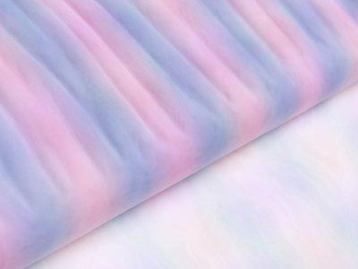 Regenbogen-Tüll - breite Streifen - multicolor