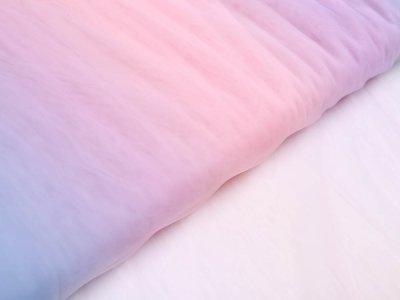 Regenbogen-Tüll mit Farbverlauf - multicolor