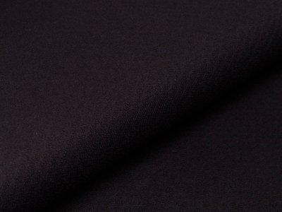 Jersey Jacquard - Relief Blüten - schwarz