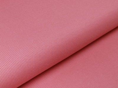 Feinripp-Jersey - uni rosa