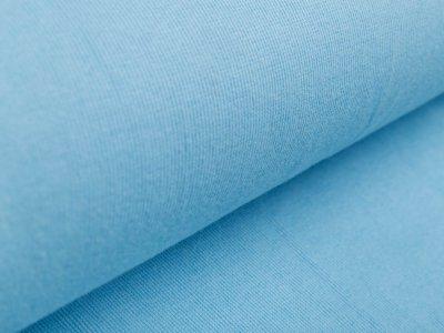 Ripp-Bündchen Sanetta Schlauchware 80 cm - uni blau
