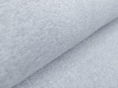 Ripp-Bündchen Sanetta Schlauchware 110 cm - meliert grau