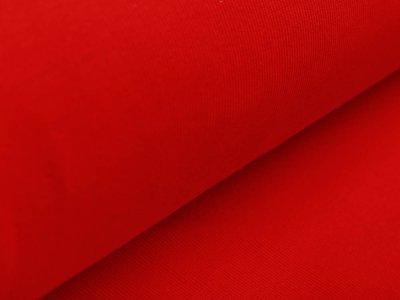 Ripp-Bündchen Sanetta Schlauchware 80 cm - uni rot