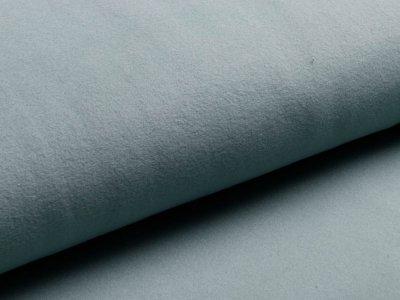Baumwollfleece Organic Cotton - uni altmint