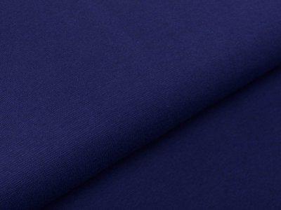 Glattes Bündchen im Schlauch Swafing Heike 100 cm - uni dunkles blau
