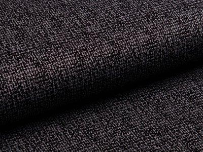 Jacquard Jersey Viskose - Strickoptik - schwarz