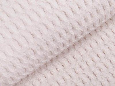 Waffelpiqué Baumwolle - Waffeloptik - beige