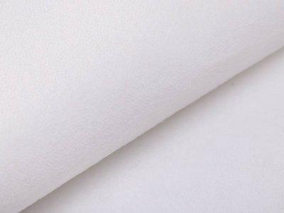 Bügelvlies einseitig beschichtet - weiß