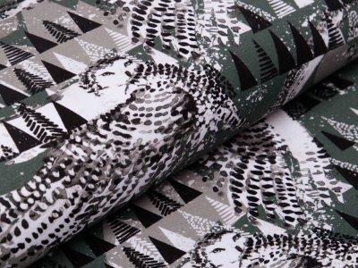 Jersey Digitalprint Stenzo - Schneeeulen - khaki