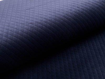 Rautenstepper Samtoptik Swafing - Tokio - marineblau
