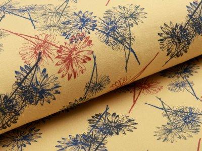 Sweat French Terry Organic Cotton - Strohblumen - senfgelb