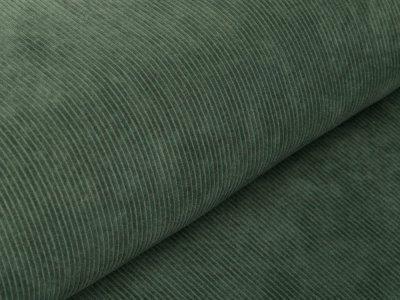Cord-Jersey Swafing Juna - uni khaki