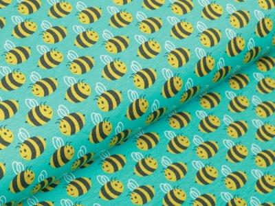 Jersey Swafing Animals Minis by Käselotti - Bienen - mint