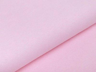 Glattes Bündchen Melange im Schlauch 35 cm - meliert rosa