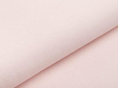 Glattes Bündchen im Schlauch -  uni rosa