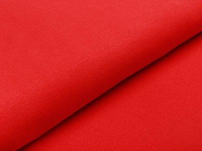 Glattes Bündchen im Schlauch Heike Swafing 100 breit rot