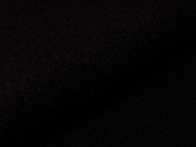 Italienischer Walkloden - uni schwarz