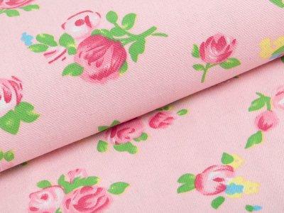 Canvas - Röschen - rosa