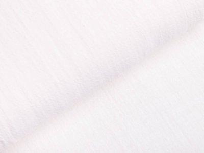 Slub Webware Baumwolle - weiß