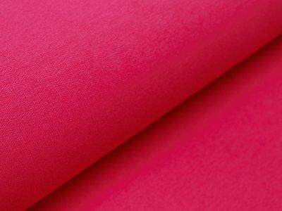 Sweat French Terry Organic Cotton - uni fuchsia