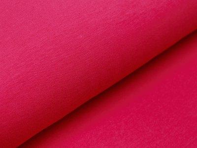 Jersey Organic Cotton - uni fuchsia