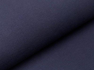 Jersey Organic Cotton - uni navy