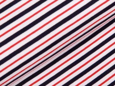 Sweat  - Streifen  - weiß