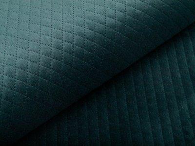 Rautenstepper Samtoptik Swafing - Tokio - dunkelgrün