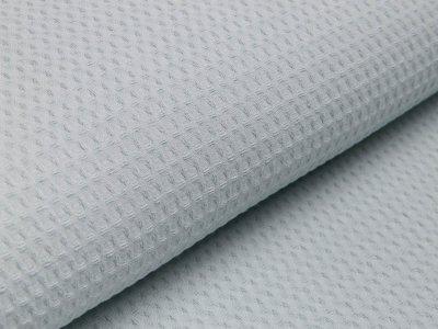 Waffelpiqué Baumwolle - Waffeloptik - mint