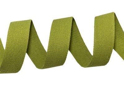 Gurtband Baumwolle 5 Meter Rolle - 30 mm - uni olive