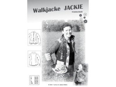 Schnittmuster JACKIE Walkjacke Farbenmix