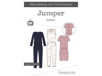Papier-Schnittmuster Fadenkäfer - Jumper - Damen