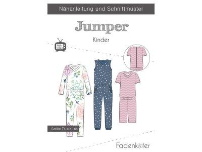 Papier-Schnittmuster Fadenkäfer - Jumper - Kinder