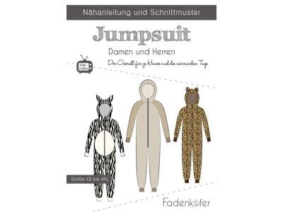 Papier-Schnittmuster Fadenkäfer - Jumpsuit - Damen und Herren