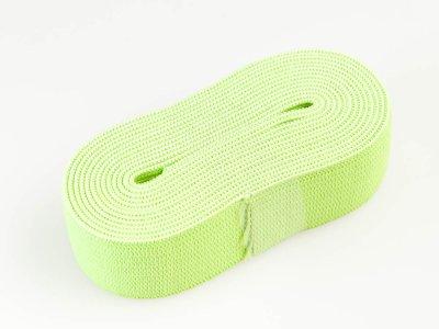 Gummiband 2m x 20mm grün