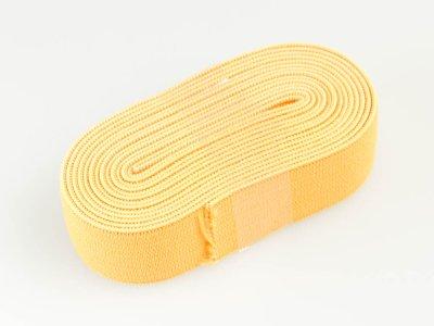 Gummiband 2m x 20mm gelb
