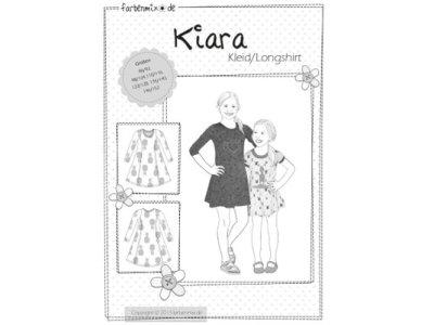 Schnittmuster KIARA Farbenmix Kleid/Longshirt