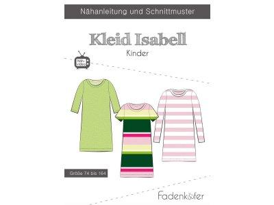 Papier-Schnittmuster Fadenkäfer - Kleid ISABELL - Kinder