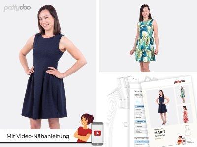 Papierschnittmuster pattydoo Kleid MARIE - Damen