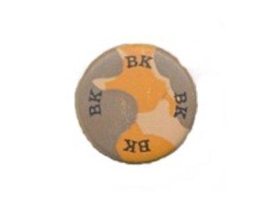 Metallknopf rund BK 15mm beige