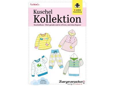 Schnittmuster Kuschelbasics Zwergenverpackung Farbenmix