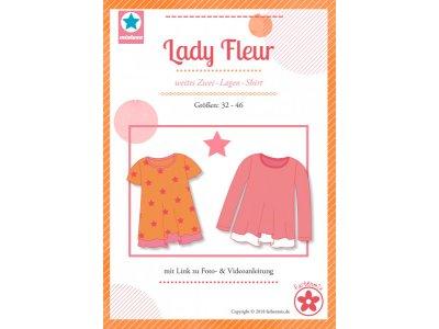 Papierschnittmuster Farbenmix  Lady Fleur  Damenshirt