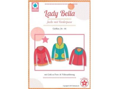Schnittmuster Lady Bella Jacke mit Vorderpasse