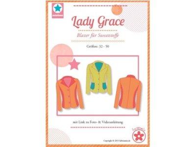 Schnittmuster Lady Grace Blazer für Sweatstoffe