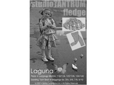 Schnittmuster LAGUNA Rock und Leggings Farbenmix