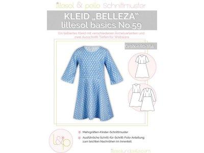 Papierschnittmuster lillesol basics No.59 Mädchen Belletza