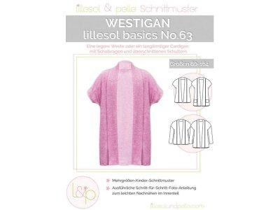 Papierschnittmuster lillesol basics No.63 Mädchen Westigan