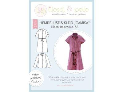 Papierschnittmuster lillesol basics No.68 Mädchen Hemdbluse & Kleid Camisa